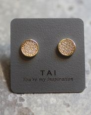 Tai Organic Circle Earrings Simple Outfits Diamond Are A S Best Friend