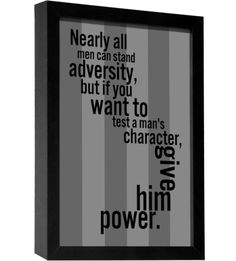 A. Lincoln Quote