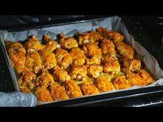 De azi, veti coace aripioarele de pui doar asa! Ingredientul secret, ce a schimbat gustul! SavurosTV - YouTube Baked Chicken Wings, Tasty, Yummy Food, How To Cook Chicken, Cauliflower, Shrimp, Chicken Recipes, Food And Drink, Vegan