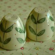 Yellow Leaf Salt and Pepper  Lucy Fagella