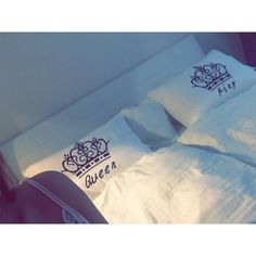 White bedroom decorative pillow queen & king