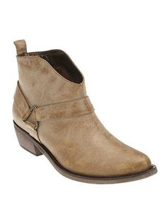 Look what I found on #zulily! Tan King Ankle Boot #zulilyfinds