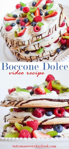 Boccone Dolce - Tatyanas Everyday Food