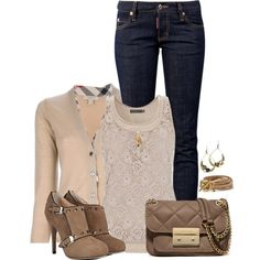 Neutrals featured in a casual outfit. Big Closets, Nude Beach, My Outfit, Casual Chic, Beautiful Things, Trousers, Ootd, Dreams, Shorts