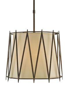 Crosshatch Pendant design by Currey & Company Modern Chandelier, Chandelier Lighting, Modern Lighting, Transitional Lighting, Southwestern Decorating, Dining Room Lighting, Ceiling Lights, Interior Design, Gold Pendant