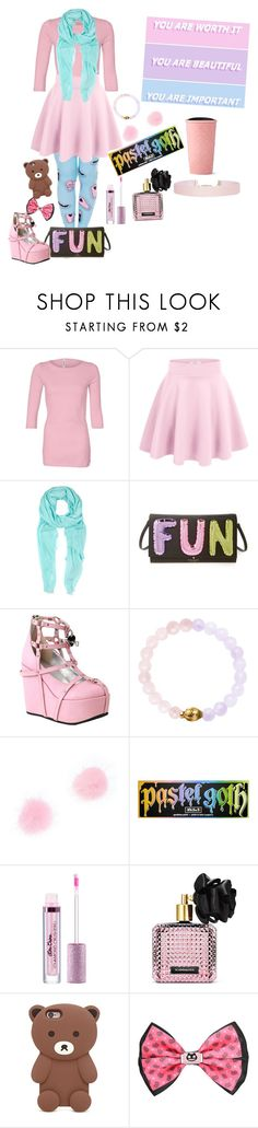 """You are worth it, you are beautiful you are important"" by grace-buerklin ❤ liked on Polyvore featuring Furla, Kate Spade, Demonia, Kat Von D, Victoria's Secret, Forever 21, Cartoon Network and Humble Chic"