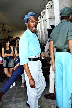 Umit Benan SS16 Men Fashion Show Paris Backstage | Sonny Vandevelde