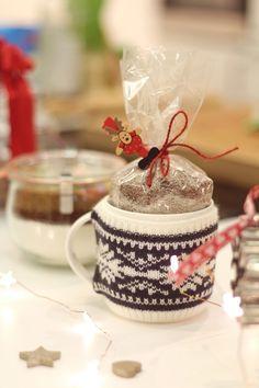 Cappuccino caseiro, bolachas de gengibre e muitos presentes para fazer e oferecer