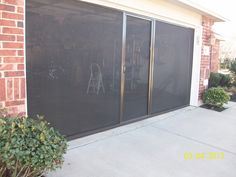 style auto double instant garage door screen fleet farm keeps mosquitoes and flies out while letting air in for the home pinterest instant garage