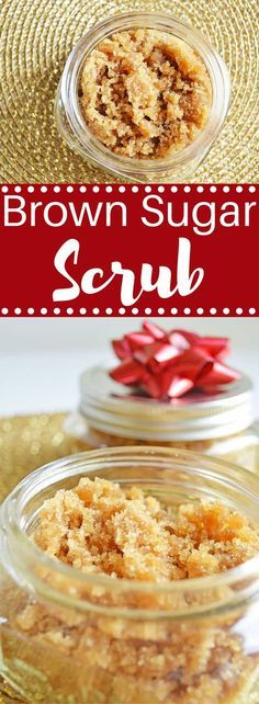 Pamper yourself (or someone else) with this amazing and invigorating Brown Sugar Scrub!
