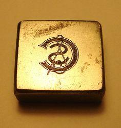 C Engraving Die  by nagraph, via Flickr