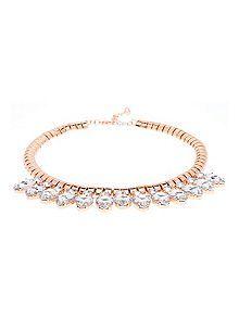 Emari Pear Drop Necklace