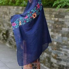 9fed8b9bc1f Large Embroidered Shawl Scarf · Embroidery ScarfFloral EmbroiderySarong  WrapShawls ...
