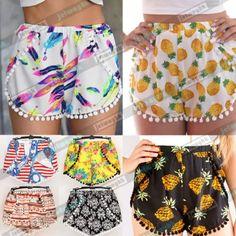 Ebay white pineapple shorts