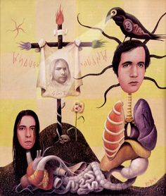 Nirvana, by Mark Ryden. (Thanks to Wolfgang for the bigger version of this).