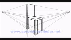 How To Draw A Chair In Perspective   Things To Draw