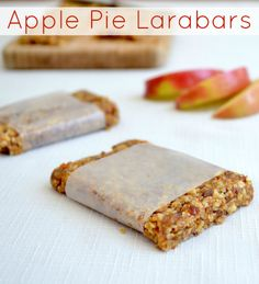 Apple Pie Larabars from Real Food Real Deals #healthy #recipe