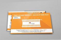 ENERGY ADVICE – Energy Advice Service Print out double sided stationery cards for Cook Grow Sew's Energy Advice Service. #graphicdesign #branding #marketing #leaflets #cards #printouts #e-cards #energyadvice #service