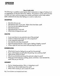 Crocker Art Museum Art Analysis Tool #2