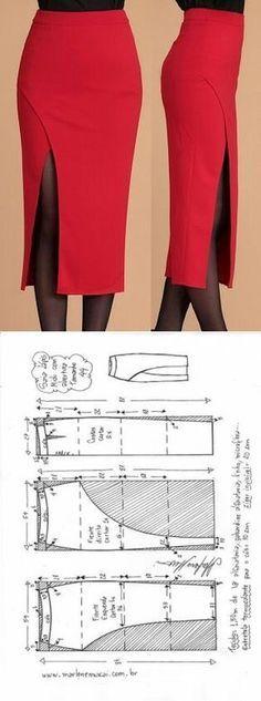 Midi pen skirt...