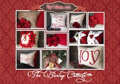 My 2013 Red Collection https://www.etsy.com/shop/TheBurlapCottage
