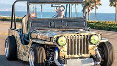 Not your everyday Jeep! thing has a – En Güncel Araba Resimleri Jeep Rat Rod, Cj Jeep, Jeep Willys, Rat Rods, Custom Trucks, Custom Cars, Carros Bmw, Badass Jeep, Landrover