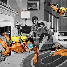 Los collages sarcásticos de Eugenia Loli - Yorokobu