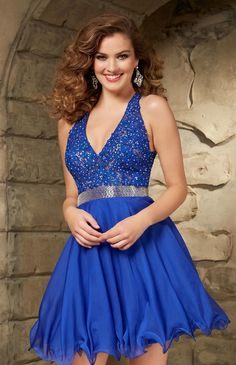 2015 blue homecoming dresses