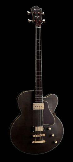 Peerless Guitars Co Ltd Smoked Bass Maple Grey