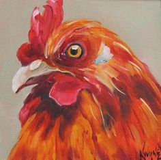 The Stare - Sold, painting by artist Kay Wyne