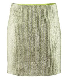 Metallic skirt from H&M