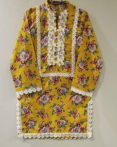 Source by mashedaloogan clothes kurti Source by EnaClothes clothes pakistani Sleeves Designs For Dresses, Dress Neck Designs, Kurti Neck Designs, Kurta Designs Women, Girls Frock Design, Fancy Dress Design, Stylish Dress Designs, Beautiful Pakistani Dresses, Pakistani Dresses Casual