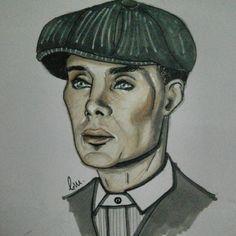 Thomas Shelby  #drawing #portrait  #peakyblinders  #fanart #artwork #illustration