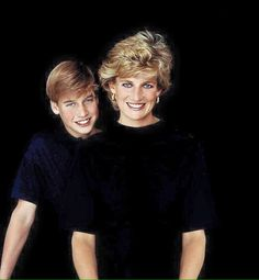 Prince William and Diana, Princess of Wales