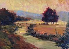 "Daily+Paintworks+-+""Shenandoah+Farm""+-+Original+Fine+Art+for+Sale+-+©+Jean+Fitzgerald"