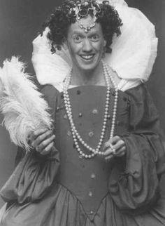 Patrick Bristow as Queen Elizabeth, early 90's Groundlings sketch