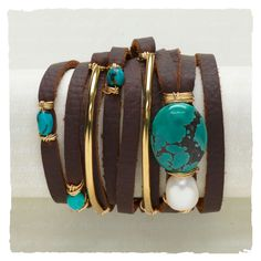 Bracelets - The Rich & The Rustic Wrap Bracelet