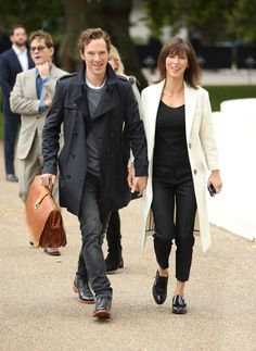Celebrity Gossip & News   Benedict and Sophie Are Fashion Week's Cutest Front-Row Couple   POPSUGAR Celebrity UK Photo 9