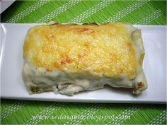 Seda                                      Sabor: Canelones de queso Ricotta y espinacas