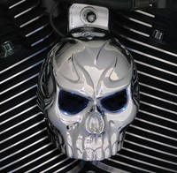 Chrome Dome Chrome Evil Twin Horn Cover
