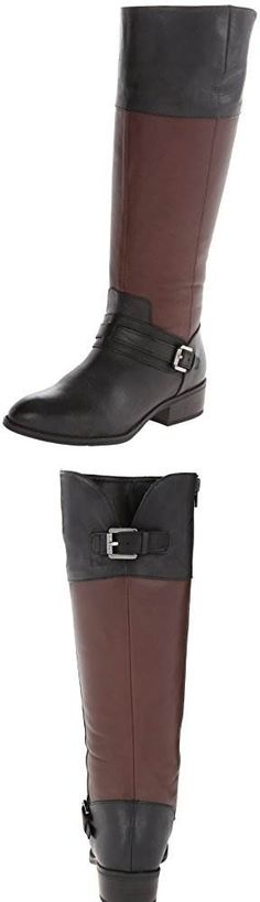 Lauren Ralph Lauren Womens Maritza Wide Calf Riding Boot: I have pretty athletic calves so it's hard to find boots that fit, and while these fit my feet perfectly the calf was just a bit too large. The regular ones actually fit fine, though it's frustrating that the wide calf ones are actually cheaper.Really nice boots, great cut and great quality overall. #Shoes Great Cuts, Cool Boots, Kinky, Riding Boots, Calves, Overalls, Ralph Lauren, Athletic, Nice
