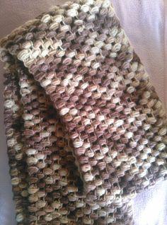 Bufanda de cuello redondo grande