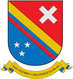 Coat of arms of Archipelago of San Andrés,Providencia and Santa Catalina Coat Of Arms, Symbols, Country, Pictures, Saints, Caribbean, Islands, Photos, Rural Area