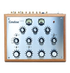 Carmen is a 4 channel desktop rotary DJ mixer, encased in a distinctive hardwood frame with a fully discrete audio circuit and 3 way master EQ.