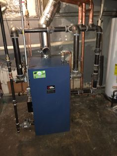 Converted Oil to Gas Steam Boiler in Garfield, NJ  For more information, check out our website: http://njplumbingchoice.com/oil_to_gas_conversion_zip.asp?zip=07026