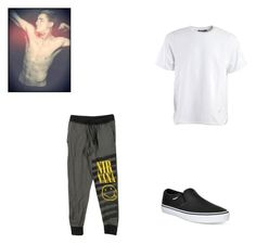 """""""Lanny Summer, Summer Chapter 16"""" by cece-volcanoes on Polyvore featuring Alexander Wang, Vans, men's fashion and menswear"""
