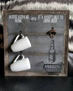 ¡Renueva tu Cocina con un muy simple truco: Organiza y Decora a la vez, poniendo orden a tus Tazas, esas que utilizas para tomar café!