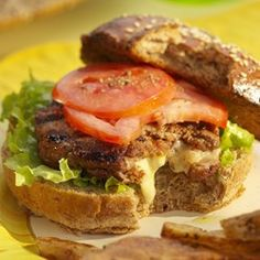 Inside-Out Cheeseburgers - EatingWell.com