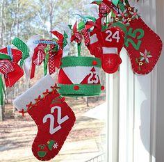 Amanda's Parties TO GO: My Favorite Christmas Tradition -- The Advent Calendar