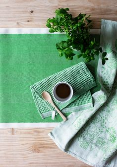 Summertime magic! Linen textiles woven in Finland by Lapuan Kankurit